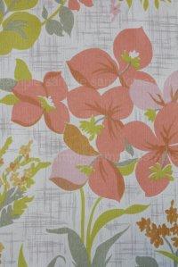 全長9.5m:レトロなwallpaper ヴィンテージ・アンティーク壁紙(クロス) 12-16A
