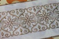 フランス・レトロ 刺繍リボン