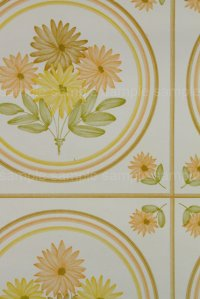全長9.5m: Wallpaper ビンテージ・アンティーク壁紙 (クロス)14-1A