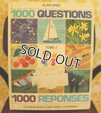 超レア! ALAIN GREE  (アラン・グレ) 1000 QUESTIONS【1000の疑問】 絵本(増刷用校正本)