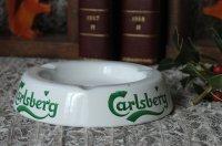 ビンテージ carlsberg ホーロー灰皿