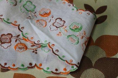 画像3: フランス・レトロ 刺繍リボン