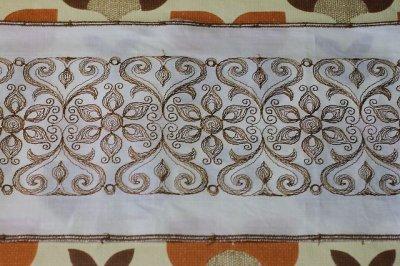 画像2: フランス・レトロ 刺繍リボン