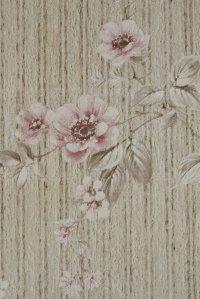 全長9.5m: Wallpaper ビンテージ・アンティーク・レトロ壁紙(クロス)  24-15A