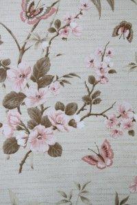 全長9.5m:Wallpaper ビンテージ・アンティーク・レトロ壁紙(クロス) 23-5A