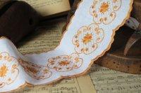 フランス・アンティーク 刺繍リボン